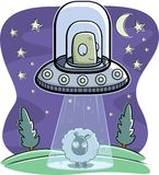 Alien Abduction Royalty Free Stock Photos