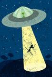 Alien Abduction Stock Images