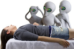 Alien Abduction Stock Image