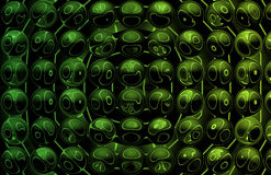 Alien Abstract Vortex Background Stock Images