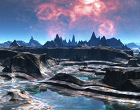 Alien Amphitheatre royalty free stock images