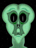 Alien From Another World Stock Photos