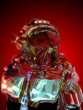 Alien astronaut Stock Photo
