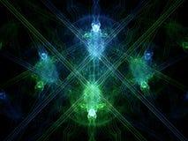 Alien attack. Alien abstract royalty free illustration
