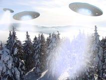 Alien attack Stock Photo