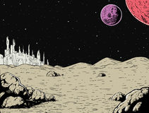 Alien Background Stock Images