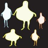 Alien blobs Stock Images