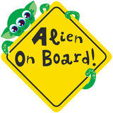 Alien on Board Stock Photography