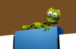 Alien cartoon Stock Photos