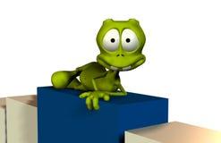 Alien cartoon Royalty Free Stock Photo