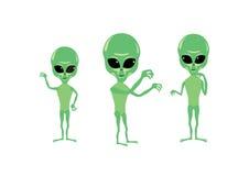 Alien cartoon character Stock Image