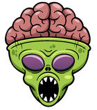 Alien cartoon Royalty Free Stock Image