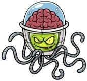 Alien cartoon stock illustration