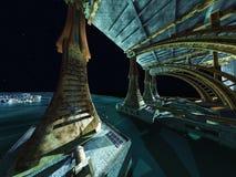 Alien City Stock Photography