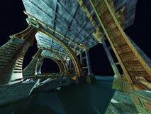 Alien City Stock Images
