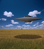 Alien Craft Stock Images