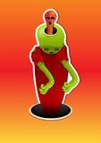 Alien Creature, illustration Stock Photos