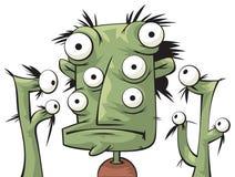 Alien creatures stock illustration