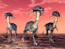 Alien creatures Royalty Free Stock Photos