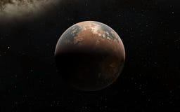 Alien Desert Exo Planet Royalty Free Stock Image