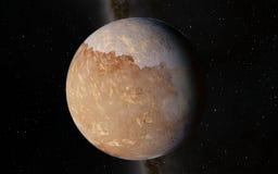 Alien Desert Exo Planet Stock Images