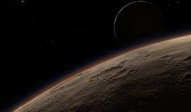 Alien Desert Exo Planet Stock Image