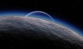 Alien Desert Exo Planet Royalty Free Stock Images