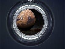 Alien Exo Planet. Stock Images