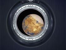 Alien Exo Planet. Royalty Free Stock Photo