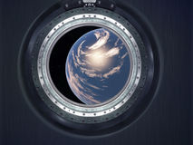 Alien Exo Planet. Royalty Free Stock Images