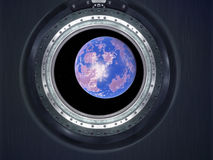 Alien Exo Planet. Elements of this image furnished by NASA Stock Photography