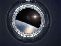 Alien Exo Planet. Elements of this image furnished by NASA Royalty Free Stock Photography