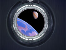 Alien Exo Planet. Elements of this image furnished by NASA Stock Images