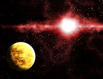 Alien Exoplanet Stock Images