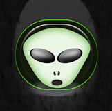 Alien face Royalty Free Stock Image