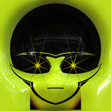 Alien face Stock Images