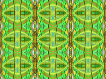 Alien Faces - Background Pattern Royalty Free Stock Images