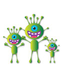 Alien family Stock Photo