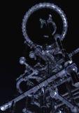 Alien fractal Structure. Digital Visualization of a fractal Structure stock illustration
