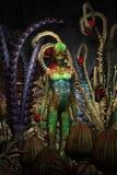 Alien garden cave Royalty Free Stock Photography