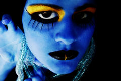 Alien Girl stock photography