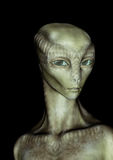 Alien girl portrait. Royalty Free Stock Photo