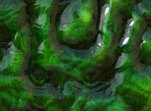 Alien green background Stock Image