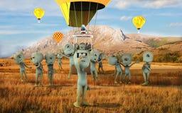 Free Alien Group Selfie Royalty Free Stock Image - 45334876