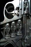Alien gun Stock Image