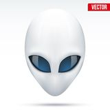 Alien head creature from another world. Vector. Stock Images