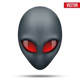 Alien head creature from another world. Vector. Alien head creature from another world. Vector illustration isolated on white background Stock Photography