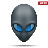 Alien head creature from another world. Vector. Royalty Free Stock Image