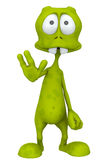 ALIEN HEY STOP THERE Royalty Free Stock Photos