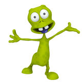 ALIEN HEY STOP THERE Royalty Free Stock Image